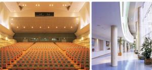 文化ホール客席、ホワイエ