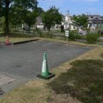 身障者用駐車場(ウイング側約2台)