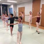 バレエBクラスの写真です。