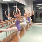 バレエCクラスの写真です。